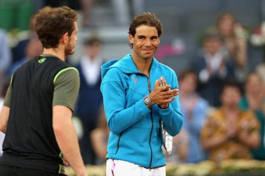 Andy Murray chooses between Rafael Nadal and Federer