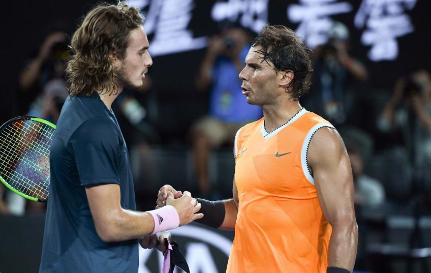 """Tsitsipas: """"Rafael Nadal's absence gives me motivation"""""""