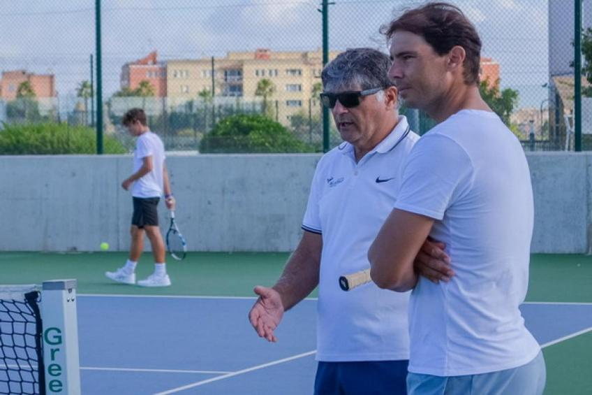 Rafael Nadal on the harder work of his Academy