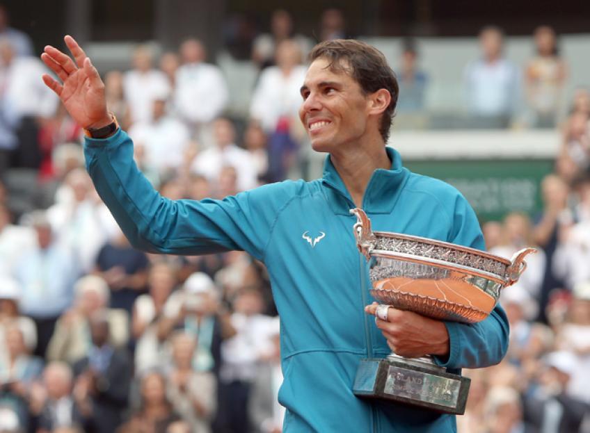 Rafael Nadal's golden heart