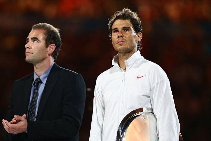 "Sampras: ""Nadal and Djokovic can easily beat Federer's Grand Slams"""