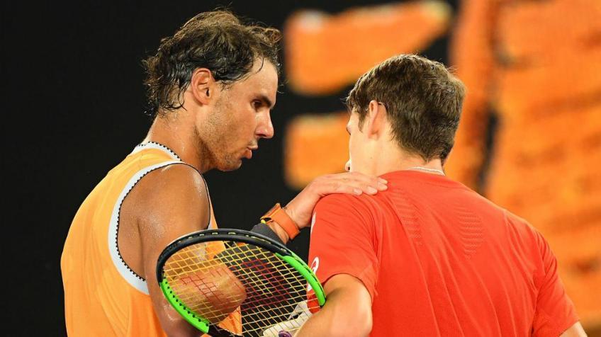"Alex De Minaur: ""To face Rafael Nadal is .."""