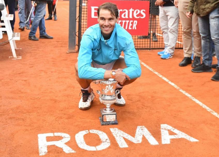 "Rafael Nadal: ""See you in Rome"""