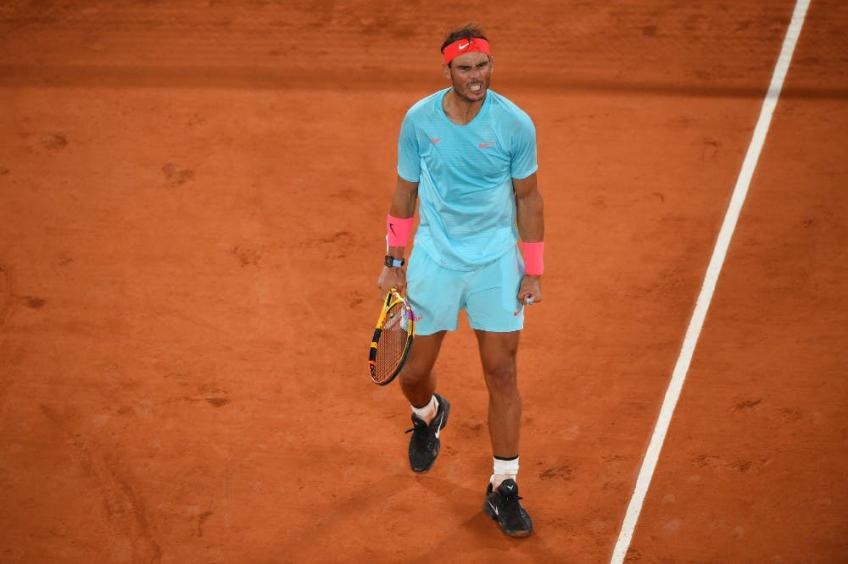 "Rafael Nadal: ""Sinner hit really hard!"""
