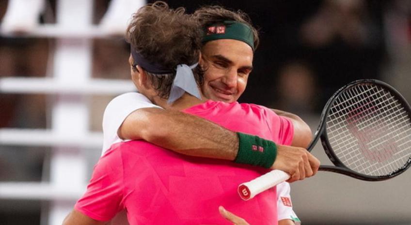 """Roger Federer praised Rafael Nadal: """"One of the greatest goal in sport"""""""