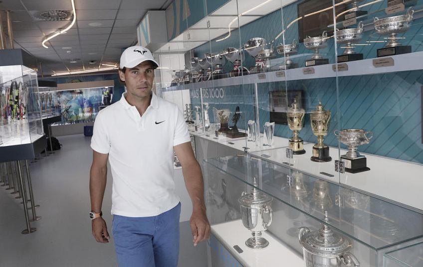 All Rafael Nadal's trophies in the Museum Experience!