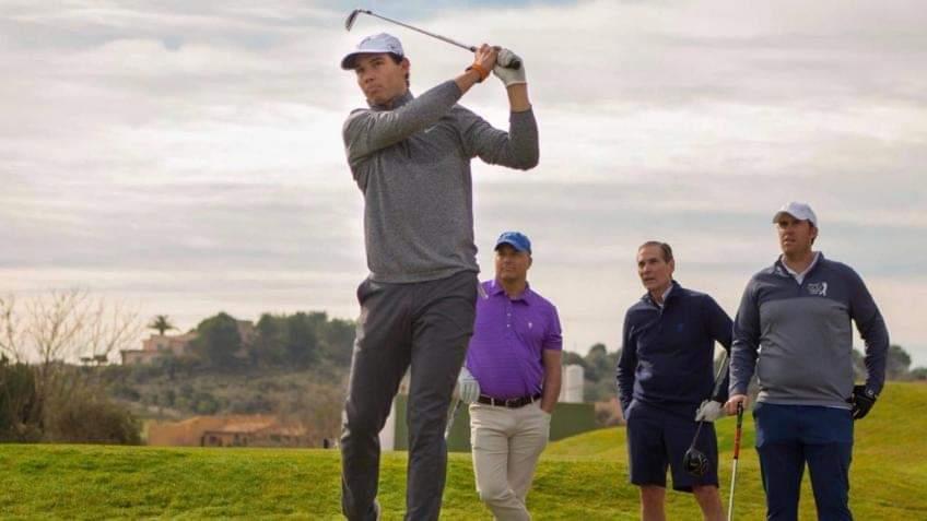 Rafael Nadal is also a star in golf!