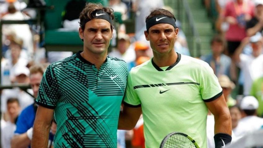 """Gavaskar: """"Rafael Nadal has the same level of Roger Federer now"""""""