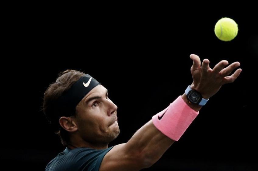 Nadal on the victory against Thompson in Paris-Bercy