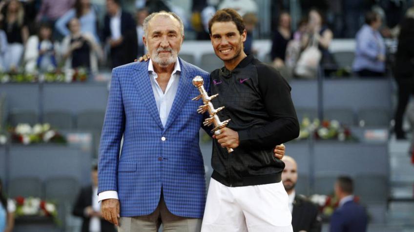 """Tiriac: """"Rafael Nadal is more popular than a politician"""""""