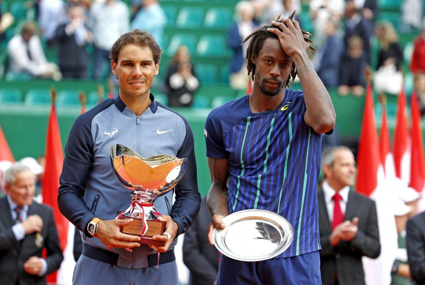 "Monfils: ""Rafael Nadal's body language is always 99.9%"""
