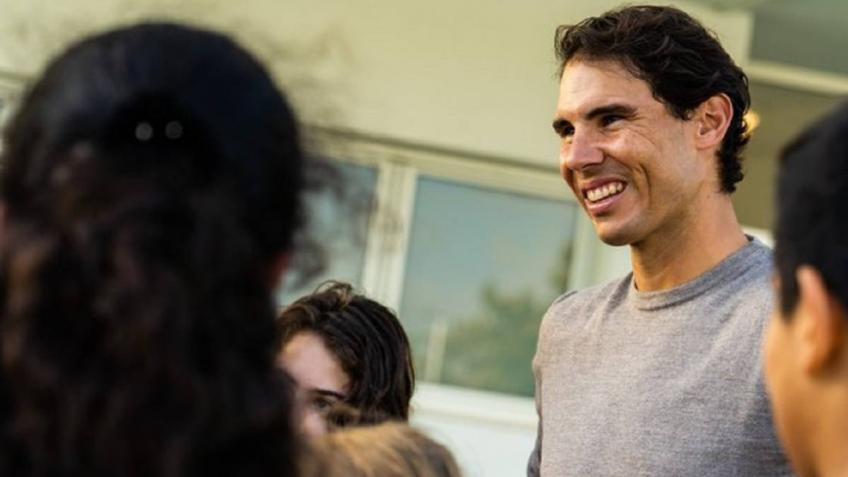 ENDESA made a donation to the Rafa Nadal Foundation