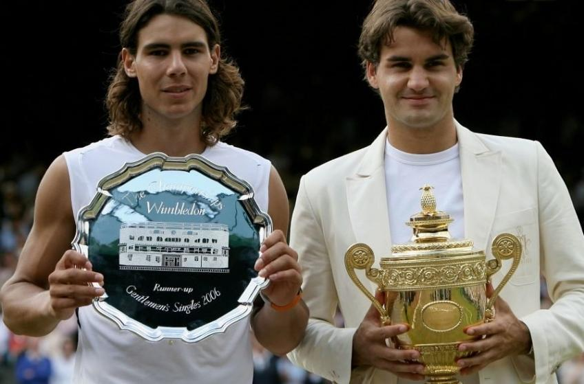 Rafael Nadal did not believe he beat Roger Federer at Wimbledon 2006