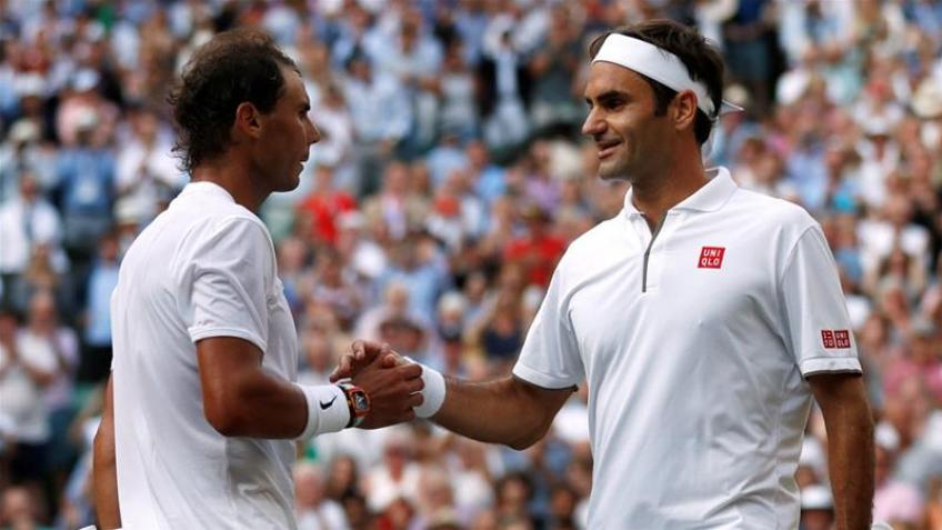 Rafael Nadal enjoys the challenges with Federer at Wimbledon