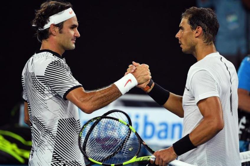 When Rafael Nadal met Roger Federer