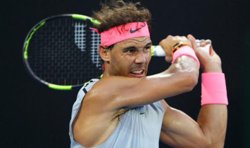Rafael Nadal's sparring partner on their training