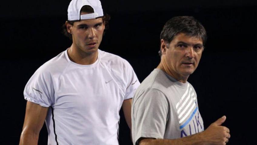 Toni Nadal and why Rafa never smashed racket