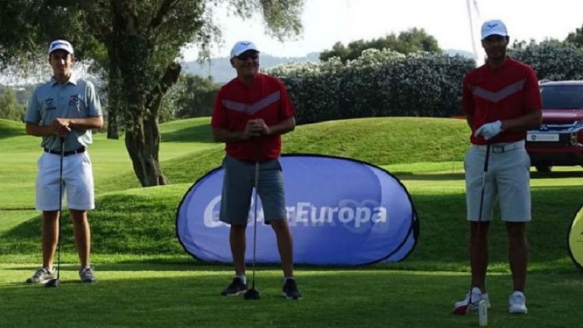 Rafael Nadal played golf in Mallorca!
