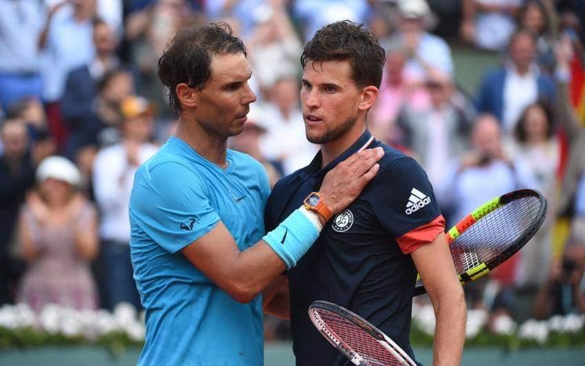 """Thiem: 'Rafael Nadal is watching time pass and ... """""""