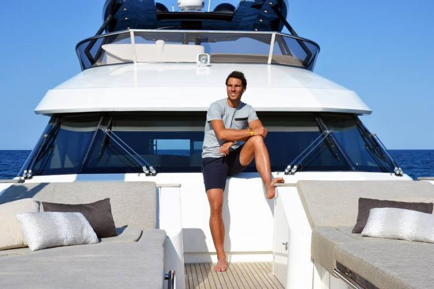 Better Rafael Nadal yacht and Beckham's Aston Martin?