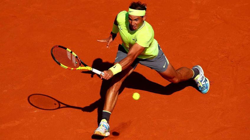 """""""It's easy to train Rafael Nadal,"""" said .."""