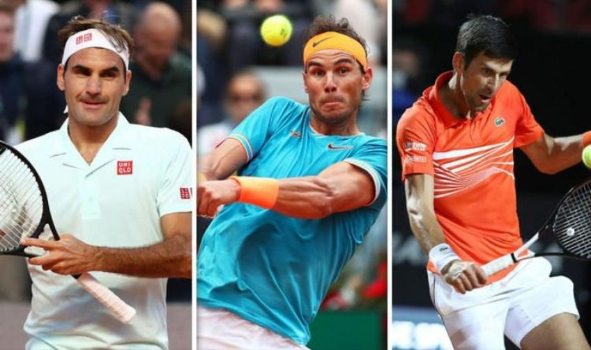 The great influence of Rafael Nadal and the other Big Three