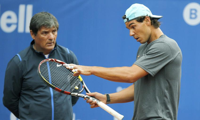 """Toni Nadal: """"The fear of having to take planes must be understood"""""""