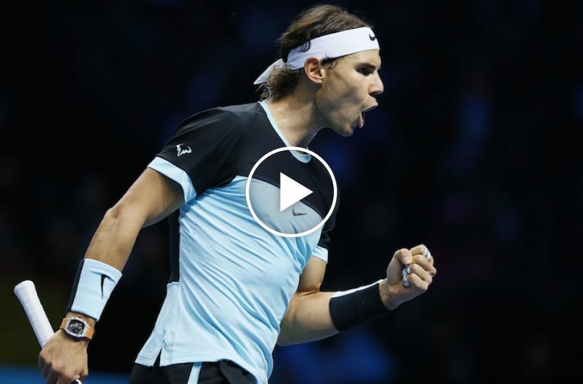Rafael Nadal vs Stan Wawrinka 2015 in Paris-Bercy